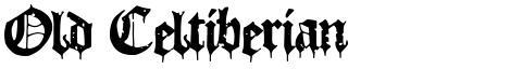 Old Celtiberian