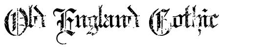 Old England Gothic