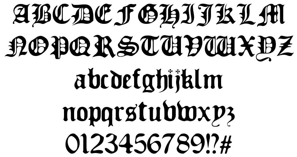 Old Europe font