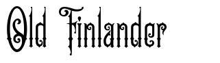 Old Finlander czcionkę