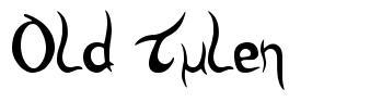 Old Tulen font