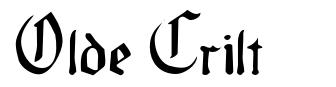 Olde Crilt font