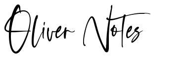 Oliver Notes