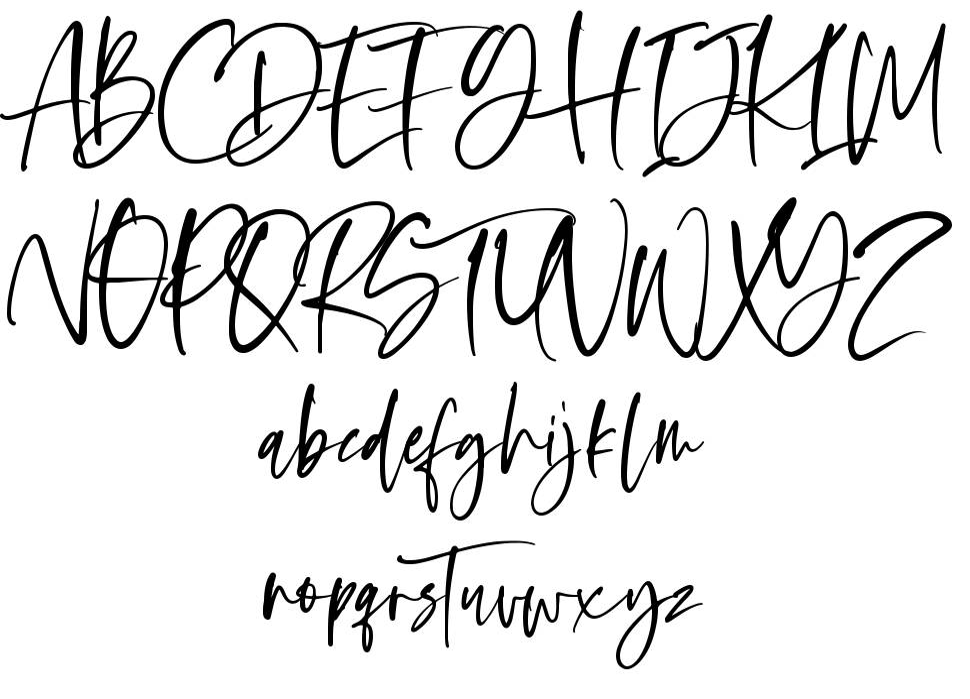 Oliver Notes font
