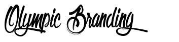 Olympic Branding 字形
