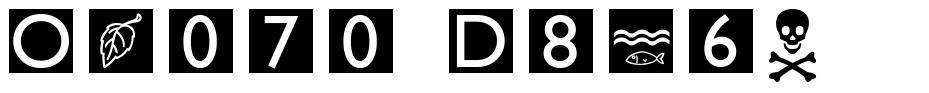 Omaha Dings font
