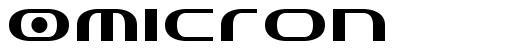 Omicron font