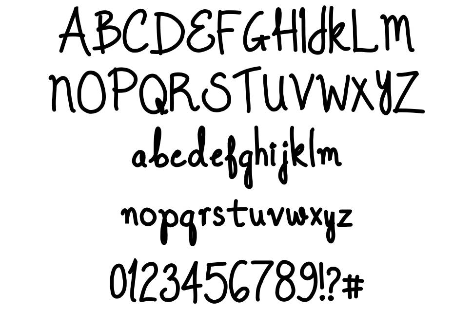 Once Upon A Dream font