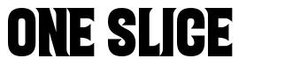 One Slice font