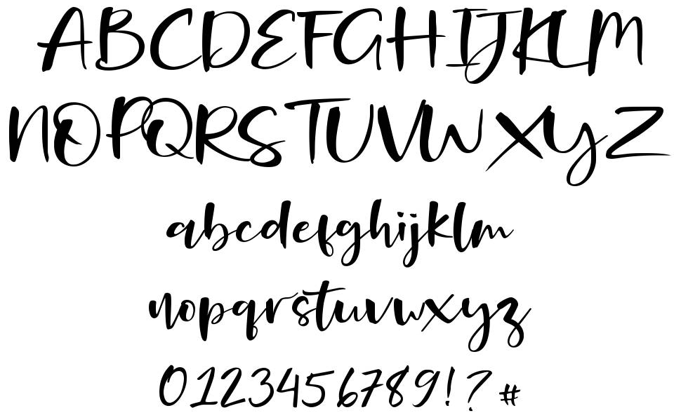 Onelove font