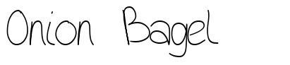 Onion Bagel font