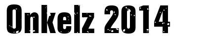 Onkelz 2014 フォント