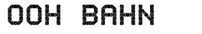 Ooh Bahn font