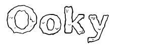 Ooky font