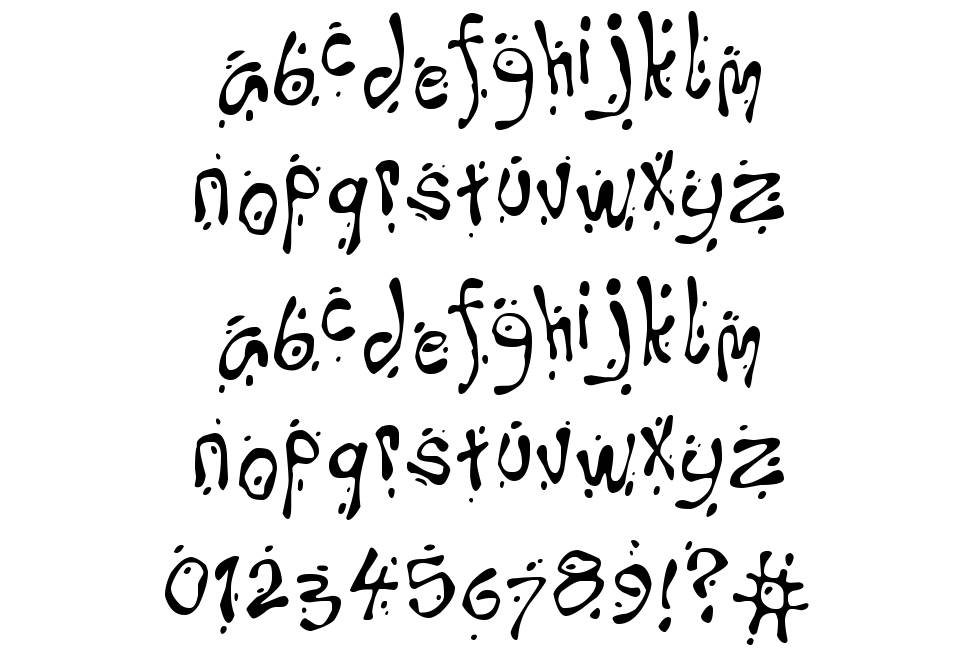 Oops font