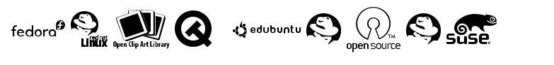 Open Logos font