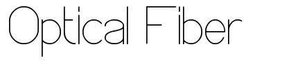 Optical Fiber font