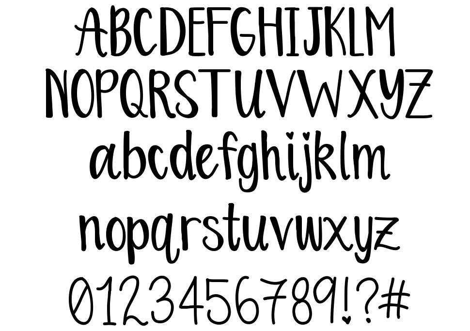 Orange Blossoms font