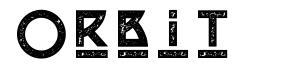 Orbit font