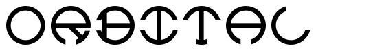 Orbital font