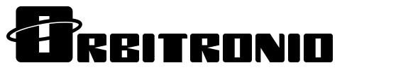 Orbitronio font