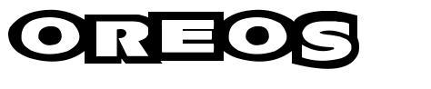 Oreos font
