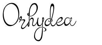 Orhydea