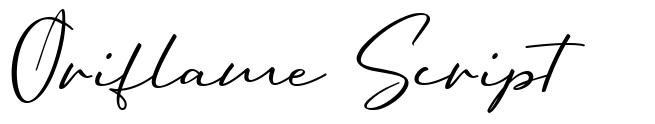 Oriflame Script font