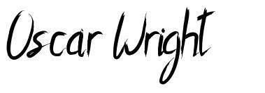 Oscar Wright schriftart