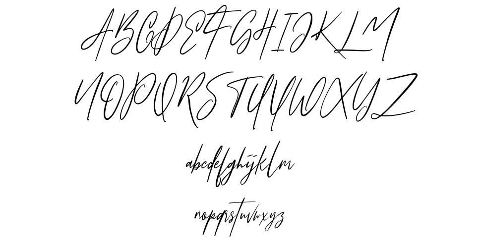 Osttrola font