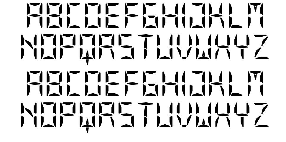 Our Display ST font