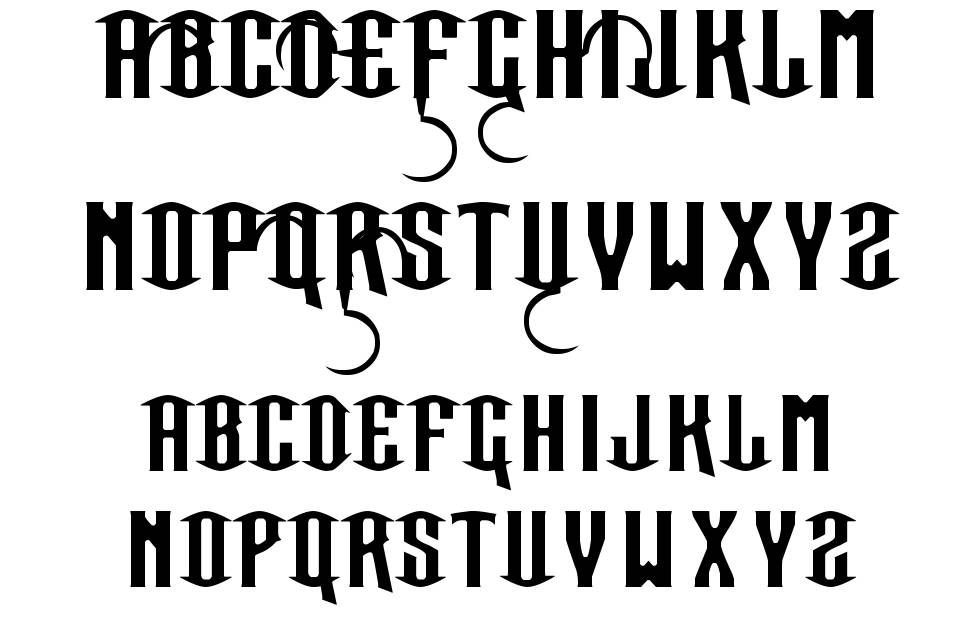 Our Sacred Rights font