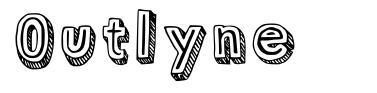 Outlyne font