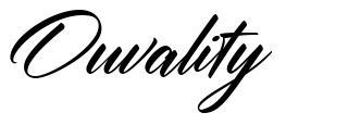 Ouvality