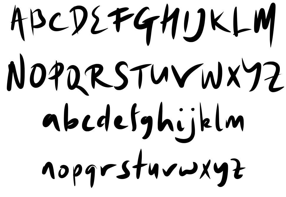 Ovalis шрифт