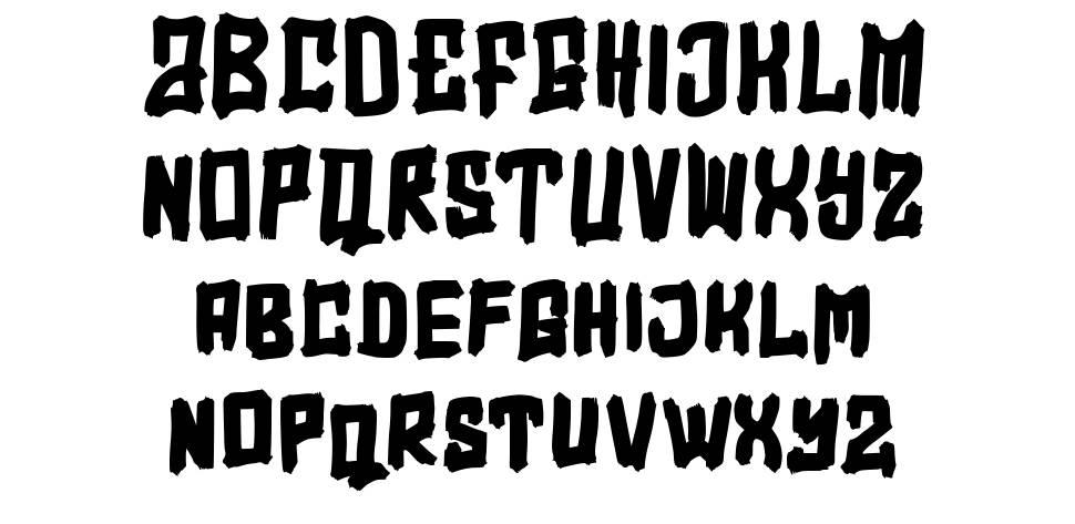 Overfly písmo