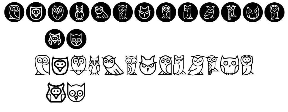 Owls フォント