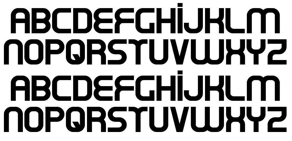 Oxin font