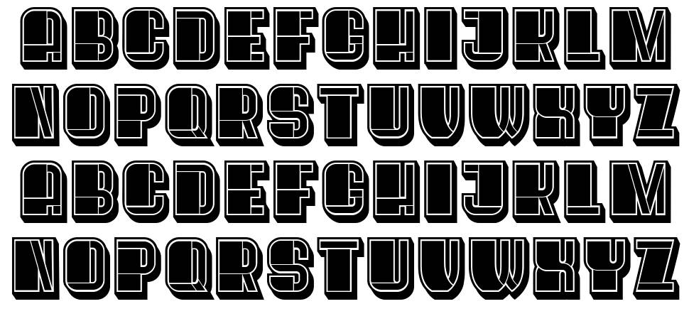 Oysters font