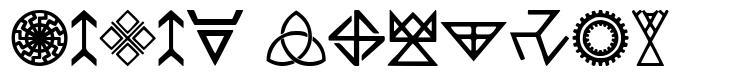 Pagan Symbols fuente