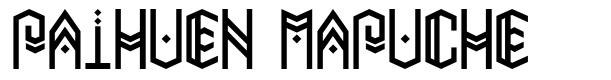 Paihuen Mapuche font