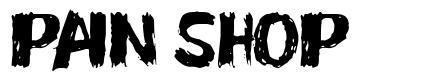 Pain Shop font