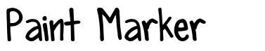 Paint Marker font