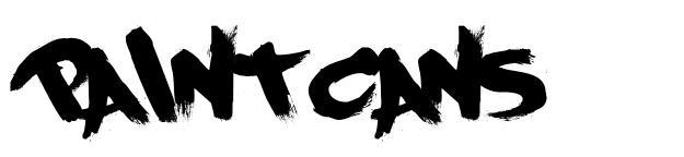 PaintCans 字形