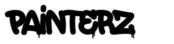 Painterz font