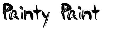 Painty Paint font