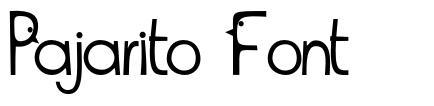 Pajarito Font
