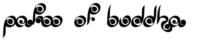 Palm of Buddha font