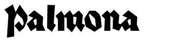 Palmona font