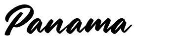 Panama フォント